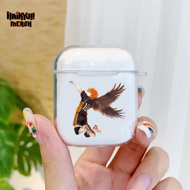 hinata wing spiker airpod case