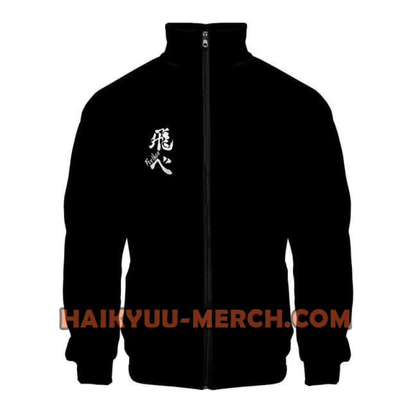 haikyuu fly bomber jacket