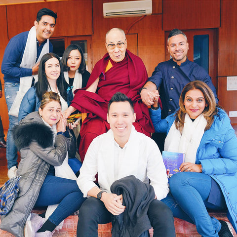 Group picture with Dalai Lama