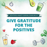 Give Gratitude for the positives