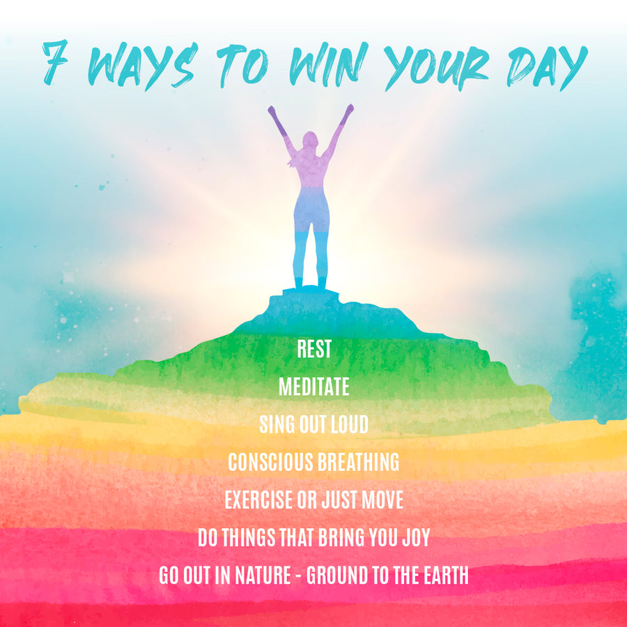 FREE E-BOOK » 5 STEPS TO WIN YOUR DAY