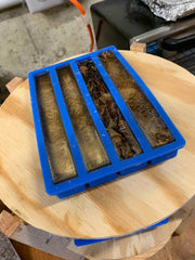 Raw pen blanks made by Heirloom Evolution