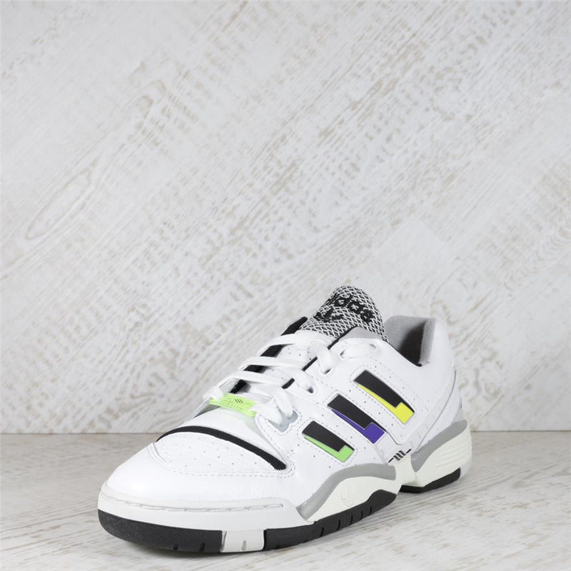 Mens Adidas Torsion Comp Trainers - Ftwwht/Cblack/Syello