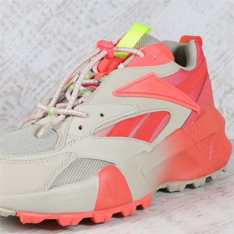 Womens Reebok Aztrek Double Mix Trail Trainers - Lghsan/Neored