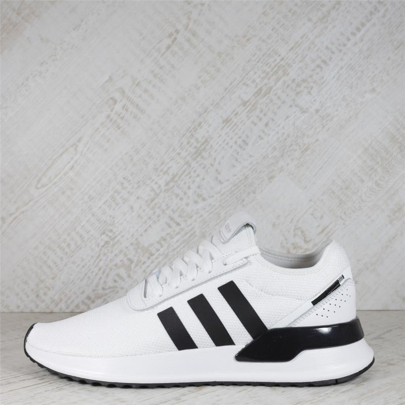 Mens Adidas U_Path X Trainers - White/Black
