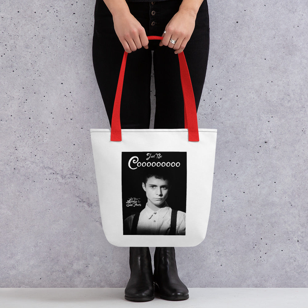 James B&W Tote bag - Dr. Bird's Advice Movie