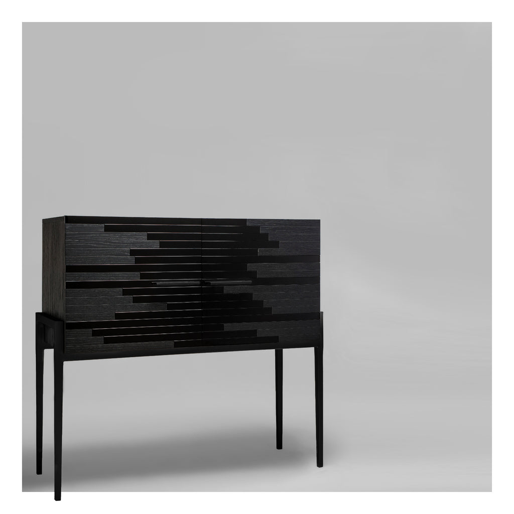 Vind Modern Sideboard in Black