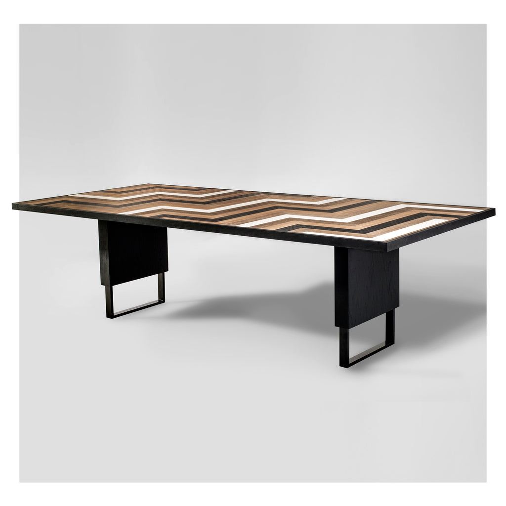 Domino Mid-Century Modern Dining Table