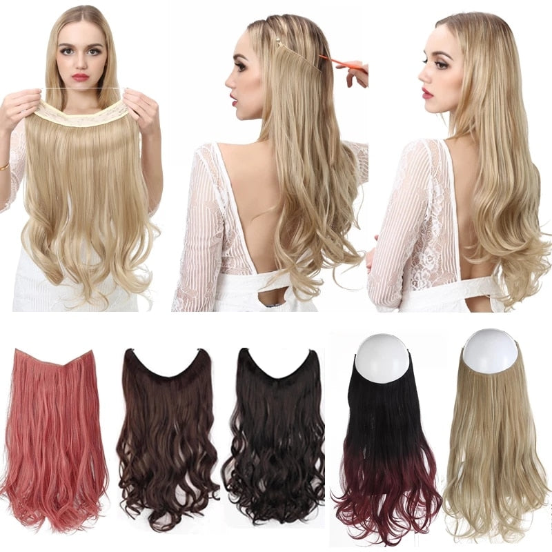 No Clip Wave Hair Extensions