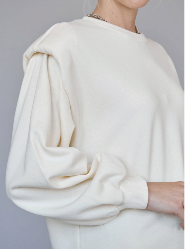 SHOULDER SWEATER