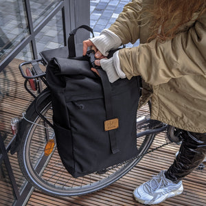 Roll Top Pannier Backpack