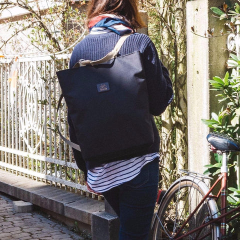 Convertible tote backpack Shoppy | Black