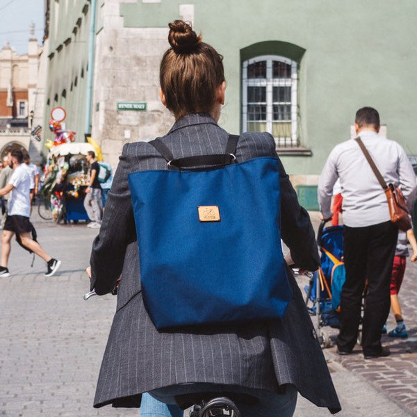 Convertible tote backpack Shoppy | Navy blue