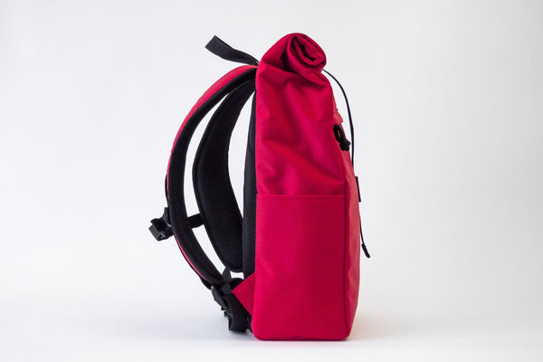 Rolltop backpack Mitte | Red