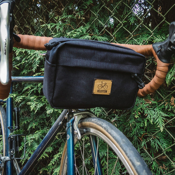 Handlebar bag Big Eddy | Navy blue - Sand