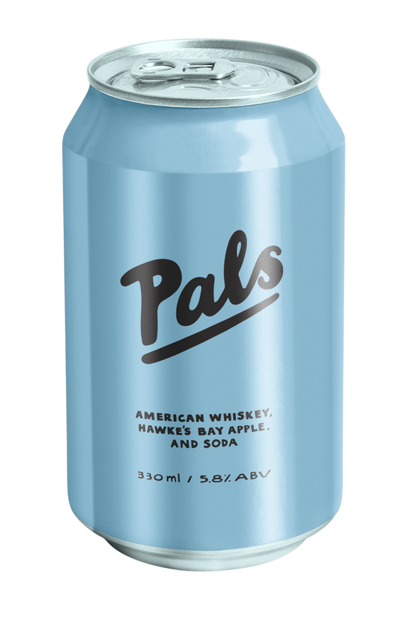 Pals American Whiskey, Hawkes Bay Apple & Soda
