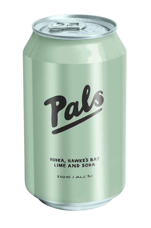 Pals Vodka, Hawkes's bay lime & soda