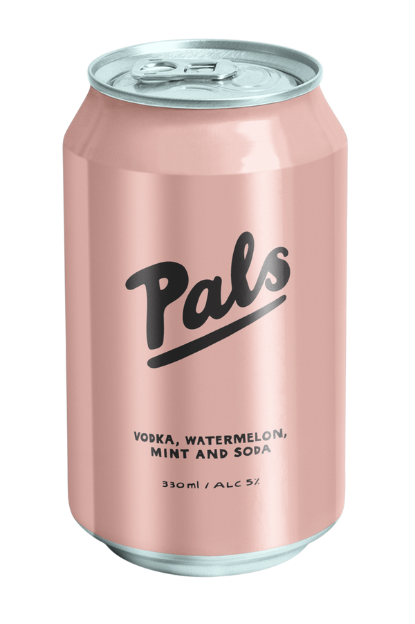 Pals Vodka, Watermelon, Mint & Soda