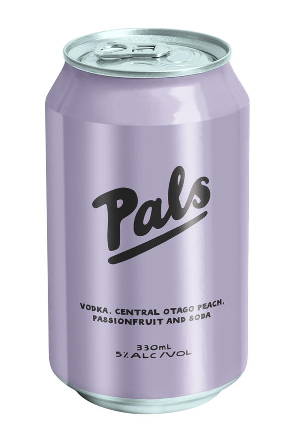 Pals Vodka, Central Otago Peach, Passionfruit & Soda