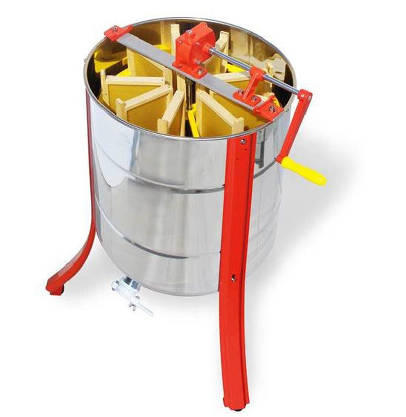 Nine Frame Stainless Steel Extractor With Side Handle And Legs