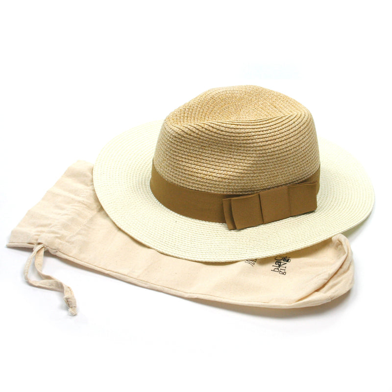 Panama Hat Two Tone