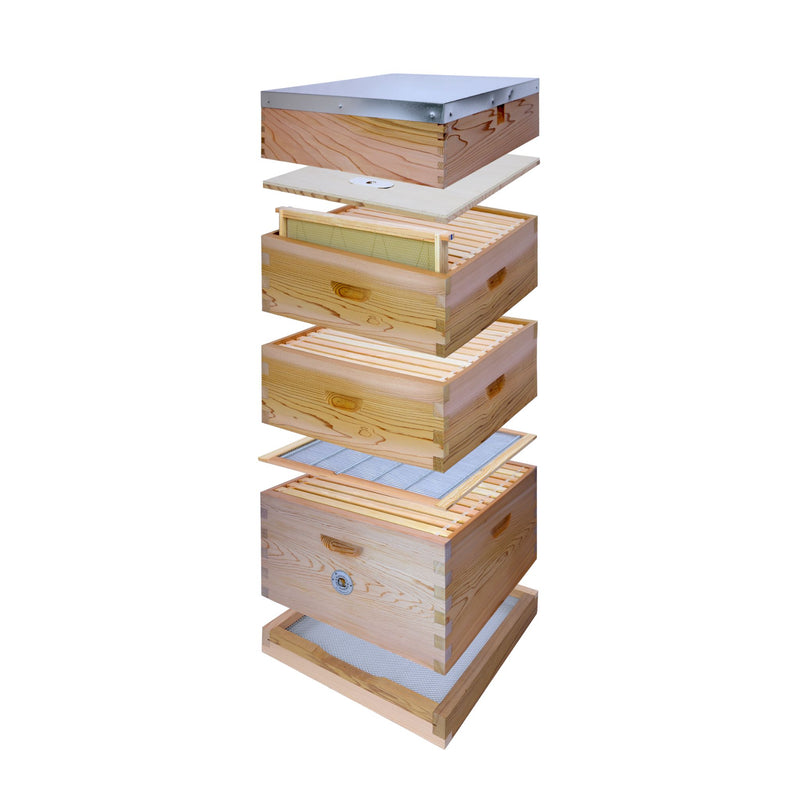 Commercial Hive Kit Flat Roof 2x Supers