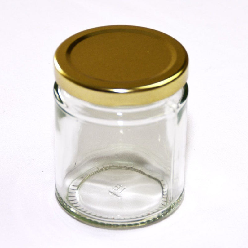 72 Round Jars with Lids - 227g