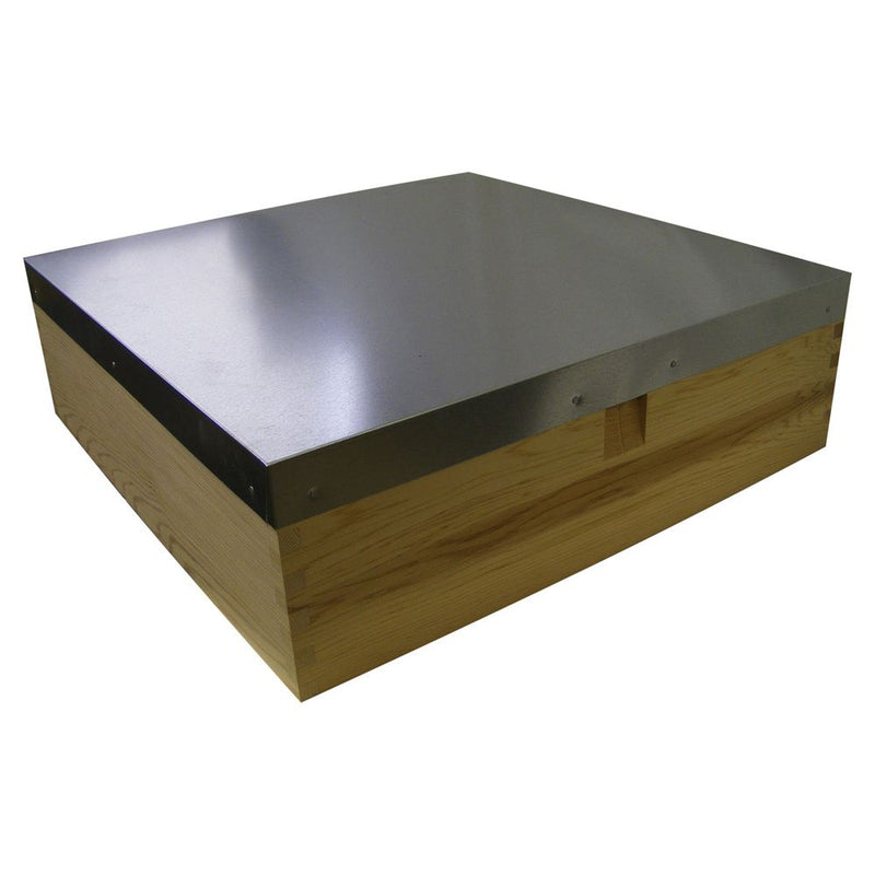 "Flat 6"" Roof for National & Commercial Hives"