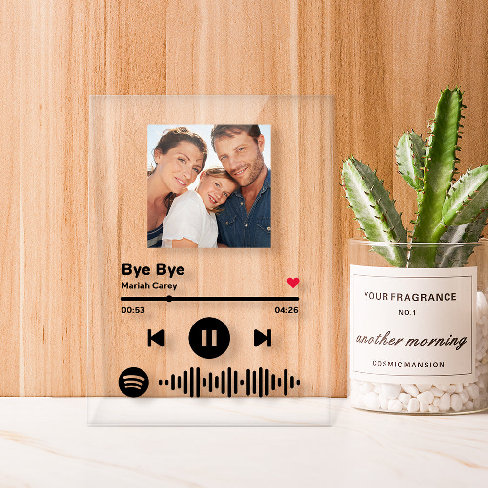 Custom Spotify Glass Gifts For Her