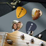 Spotify Music Code Guitar Pick 12Pcs With Photo - Blue
