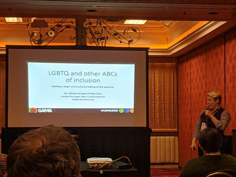presentation title slide: LGBTQ and other ABCs of inclusion