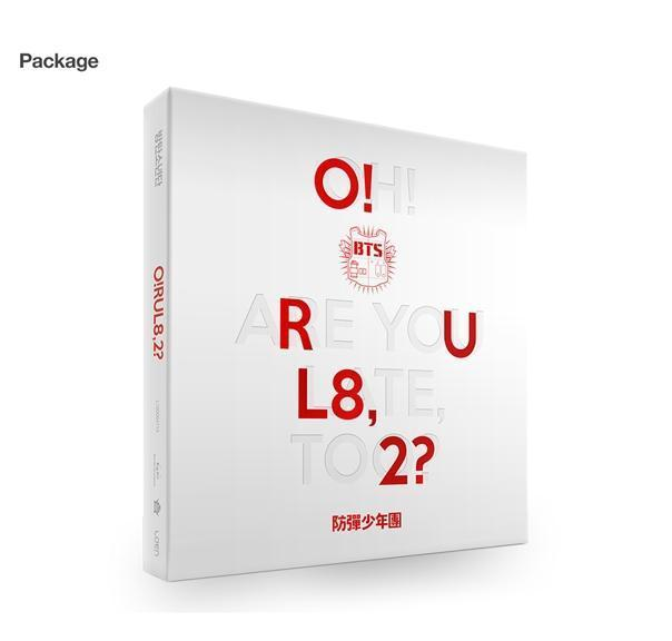 BTS - 1ST MINI ALBUM - O!RUL8,2?