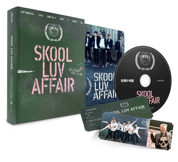 BTS - 2ND MINI ALBUM - SKOOL LUV AFFAIR