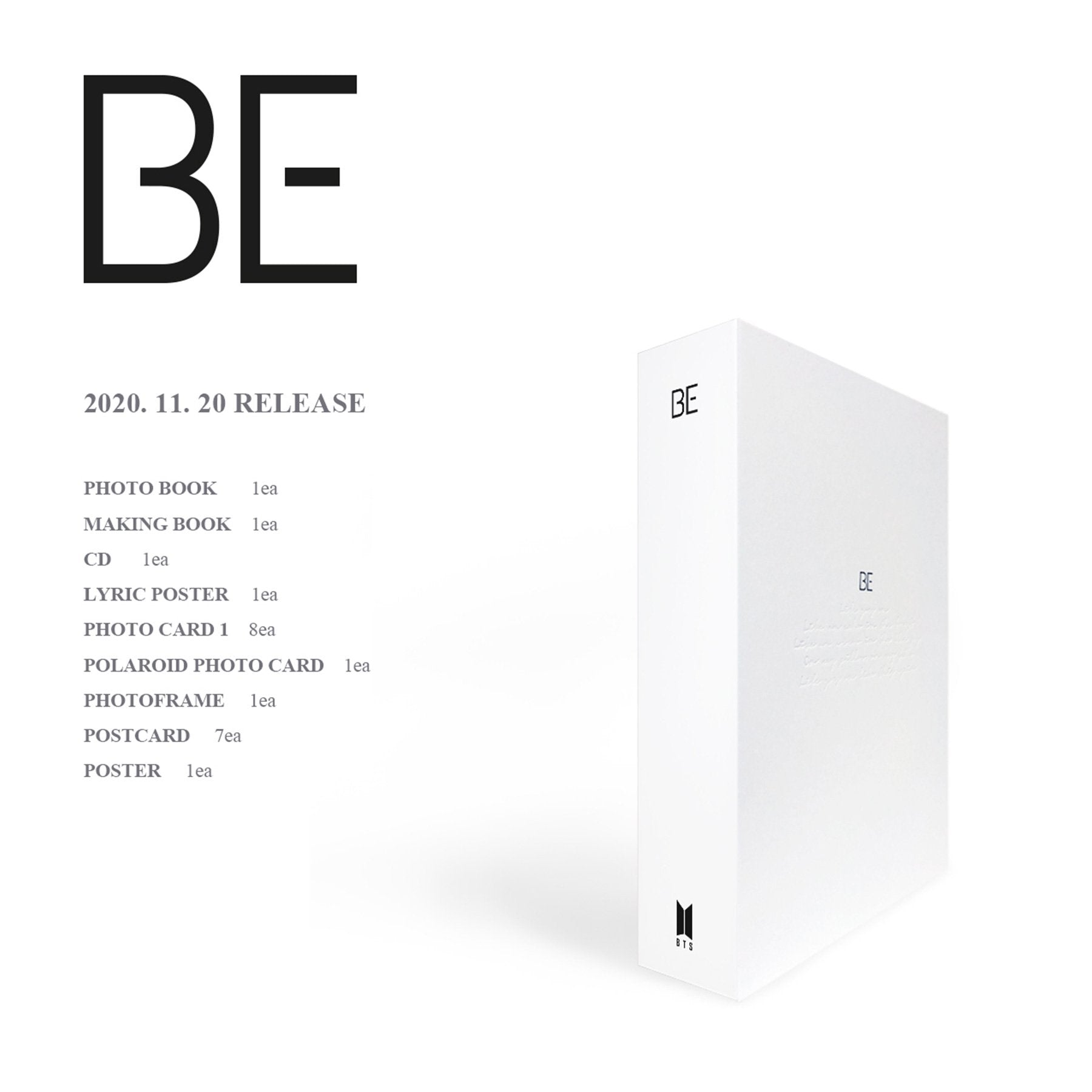 BTS BE (DELUXE EDITION)