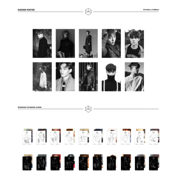 EXO - 2ND ALBUM - EXODUS (KOREAN VERSION)