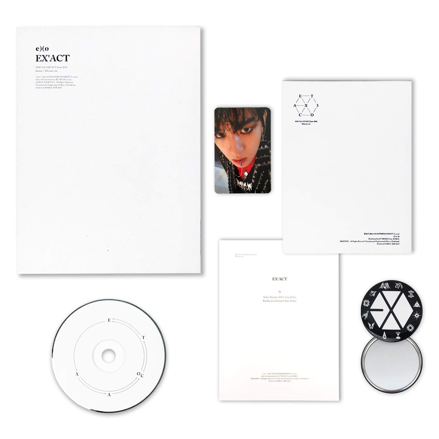 EXO - 3RD ALBUM - EX'ACT (KOREAN VERSION)