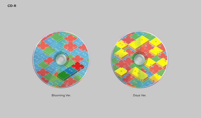 EXO-CBX - 2ND MINI ALBUM - BLOOMING DAYS (RANDOM VERSION)