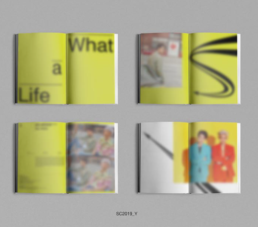 EXO-SC - 1ST MINI ALBUM - WHAT A LIFE (RANDOM VERSION)