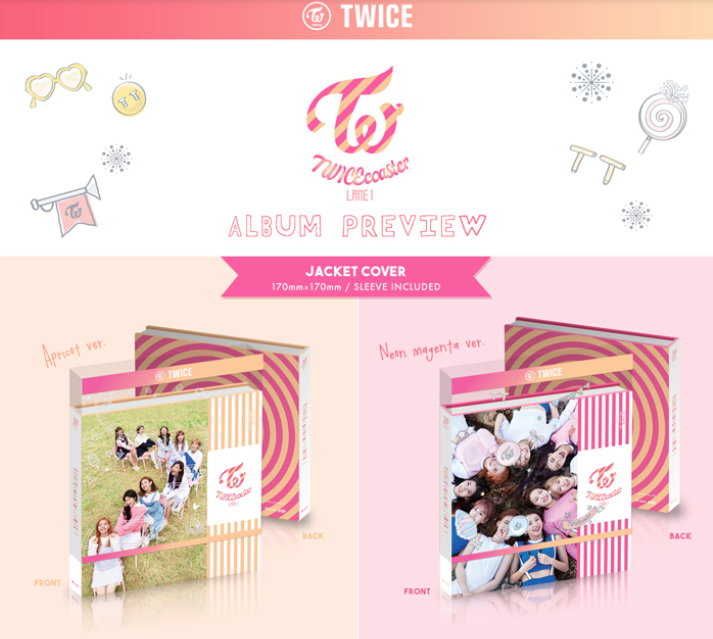 TWICE - 3RD MINI ALBUM - LANE 1 (RANDOM VERSION)