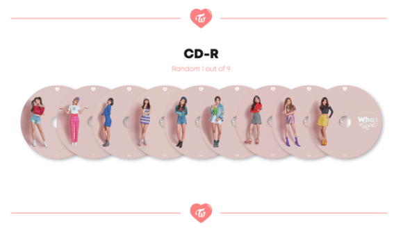 TWICE - 5TH MINI ALBUM - WHAT IS LOVE?