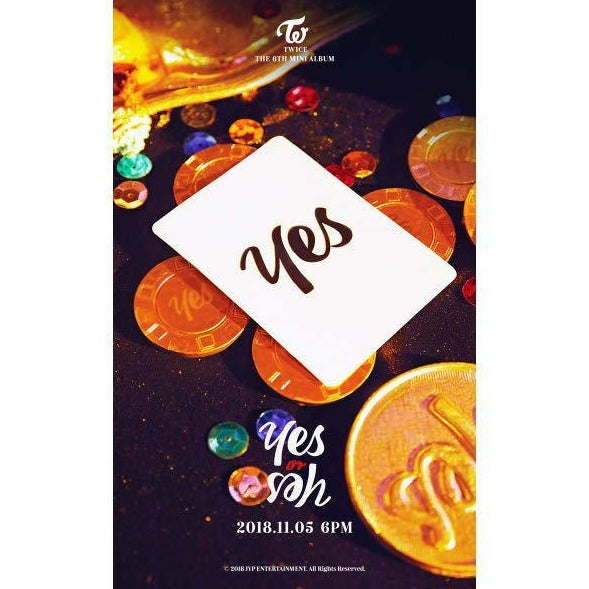 TWICE - 6TH MINI ALBUM - YES OR YES