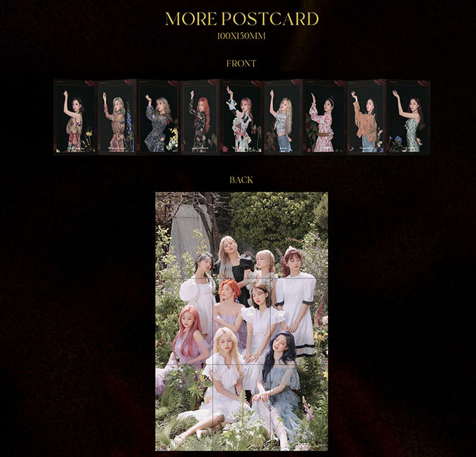 TWICE - 9TH MINI ALBUM - MORE & MORE
