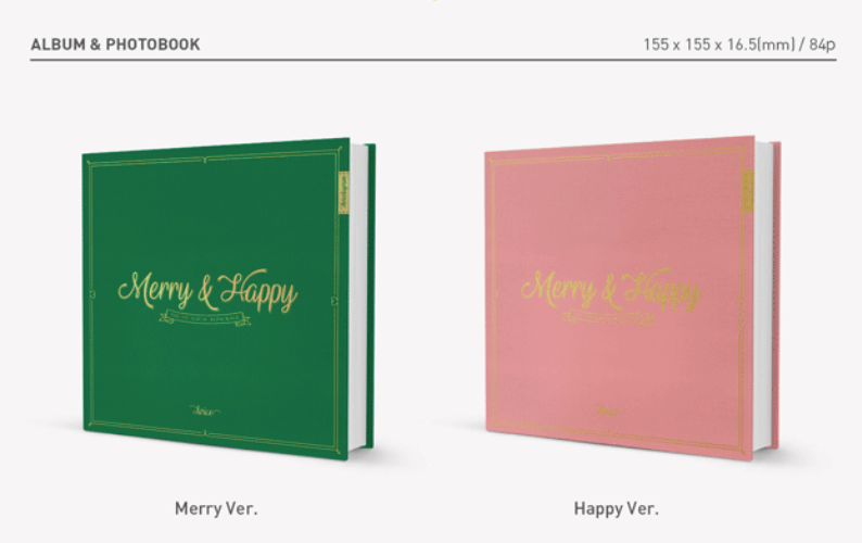 TWICE - REPACKAGE ALBUM VOL.1 - MERRY & HAPPY