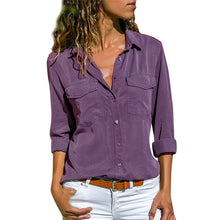 Load image into Gallery viewer, Casual Loose Women Shirt - ShopAndGo.Online