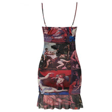 Load image into Gallery viewer, Female Vintage Sleeveless Dress - ShopAndGo.Online