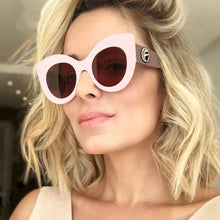 Load image into Gallery viewer, Oversize Women Cat Eye Sunglasses - ShopAndGo.Online