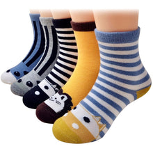 Load image into Gallery viewer, Children Toddler Casual Elastic Cotton Socks Wholesale 1-12 Years - ShopAndGo.Online