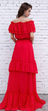 Load image into Gallery viewer, Red Maxi Dress - ShopAndGo.Online
