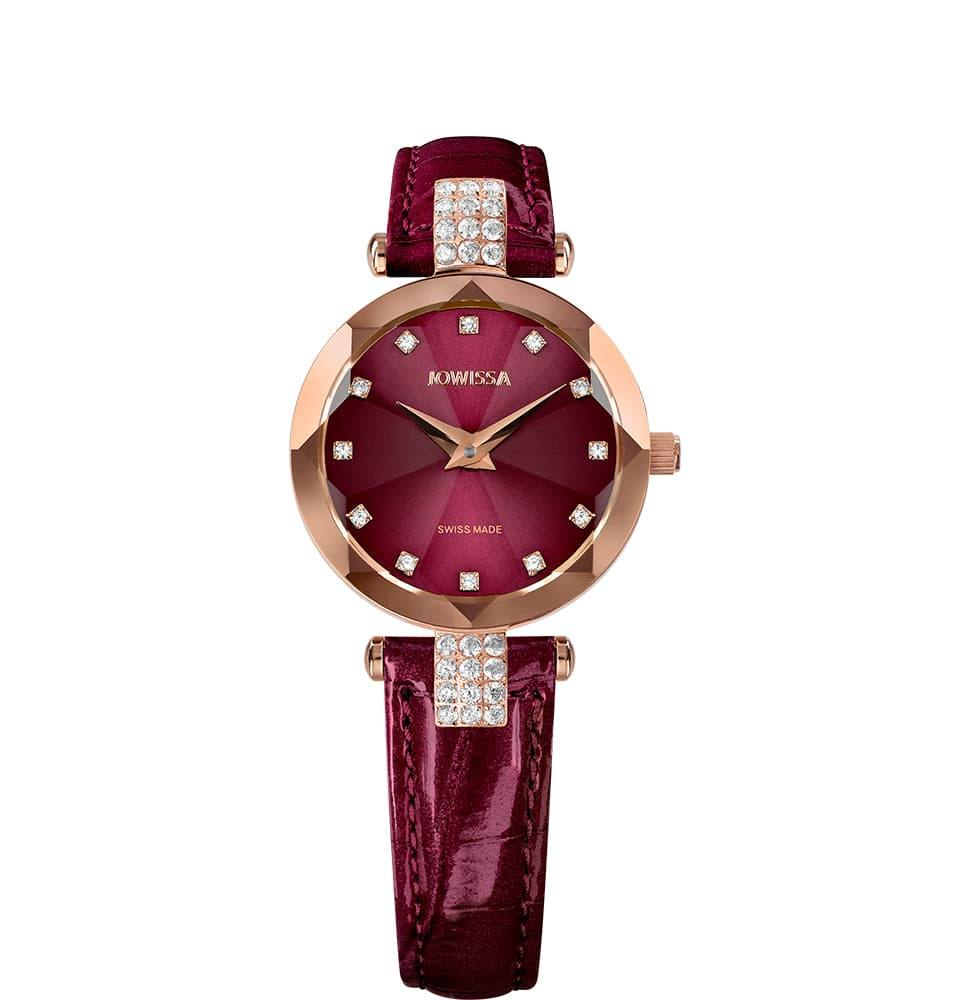 Facet Strass Swiss Ladies Watch J5.624.S - ShopAndGo.Online