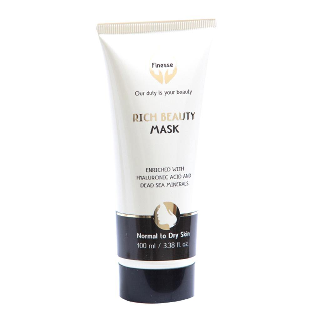 Dead Sea Rich Beauty Mask - Enriched With Hyaluronic Acid - ShopAndGo.Online